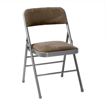 Cosco Deluxe Steel Padded Folding Chair Set Of 4 Taupe  COS 14885CHT on office depot dollies