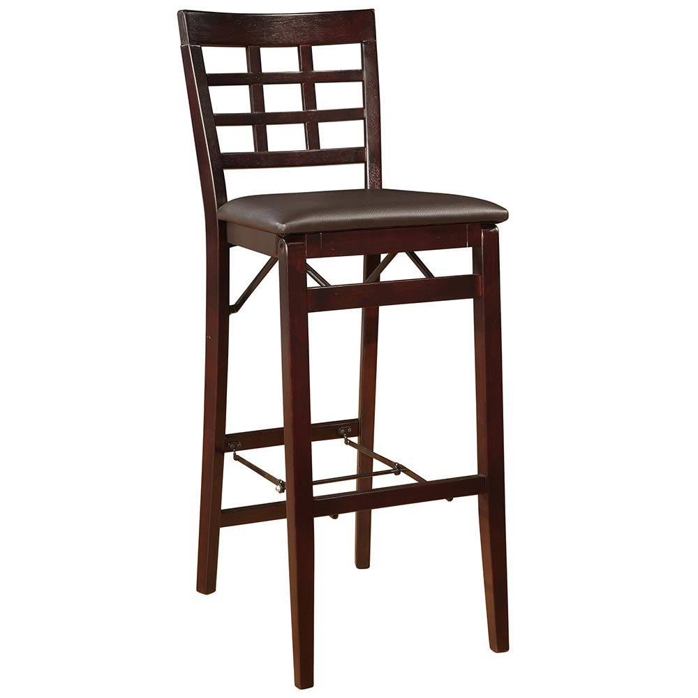 "Linon Triena 30"" Window Pane Wood Folding Bar Stool at Sears.com"