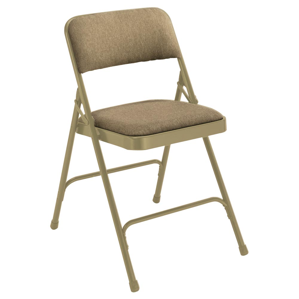 National Public Seating 4 Pack 2201 Beige Fabric Folding Chair at Sears.com