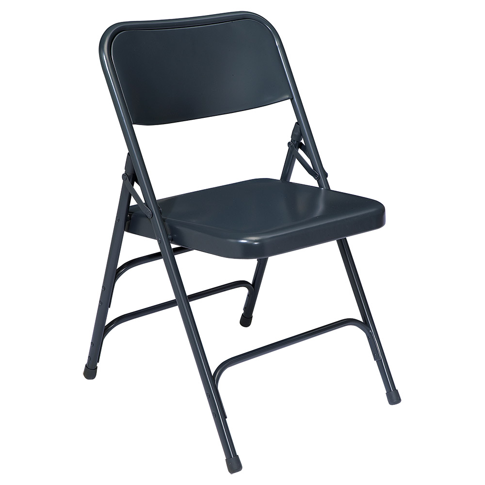 National Public Seating 4 Pack 304 Blue Premium Steel Folding Chair at Sears.com