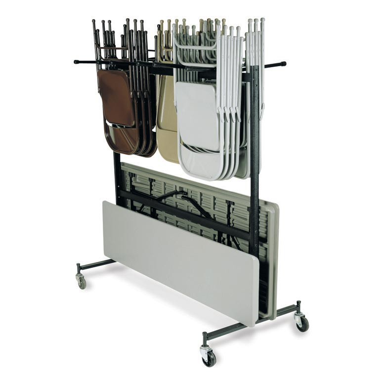 National Public Seating 42-8 Combination Folding Chair/Folding Table Truck at Sears.com