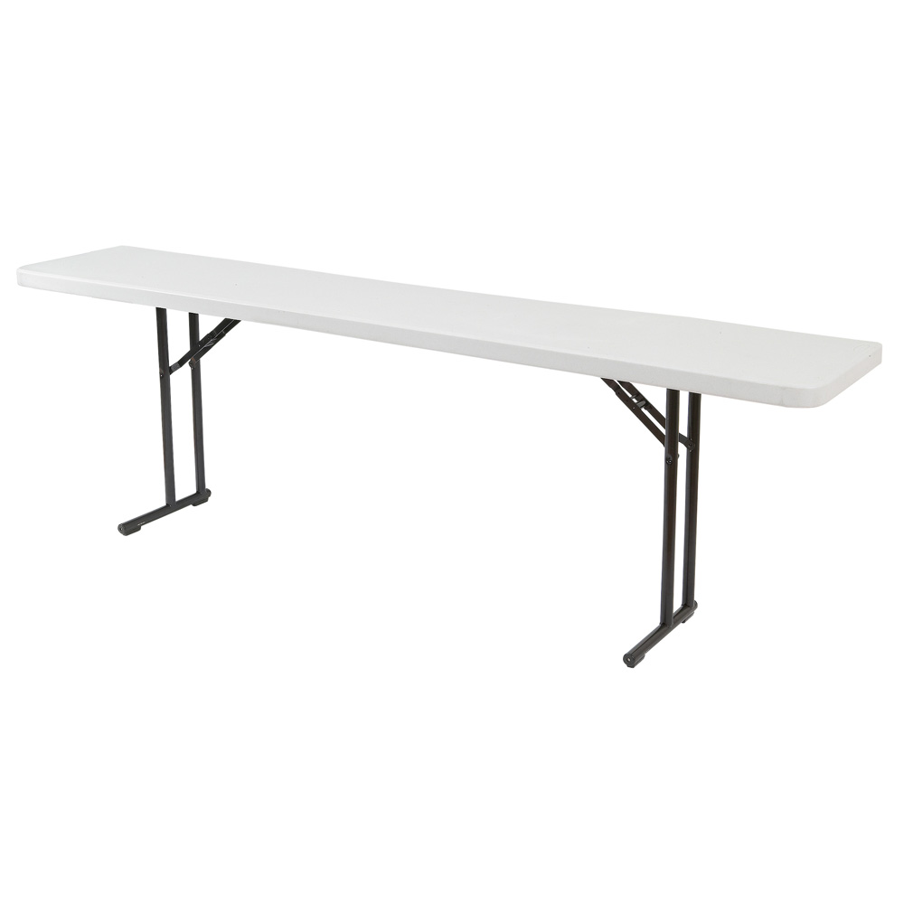 """National Public Seating BT-1872 Gray Lightweight Folding Table 18"""" x 72"""" at Sears.com"""