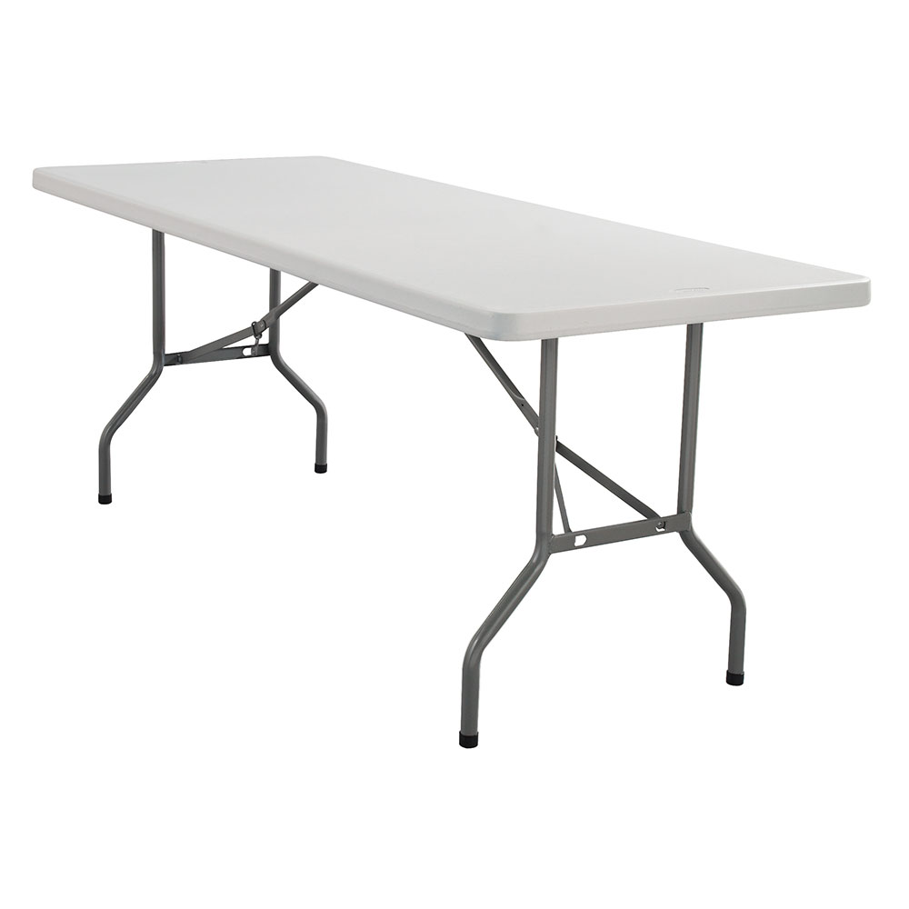 "National Public Seating BT-3096 Gray Lightweight Folding Table 30"" x 96"" at Sears.com"