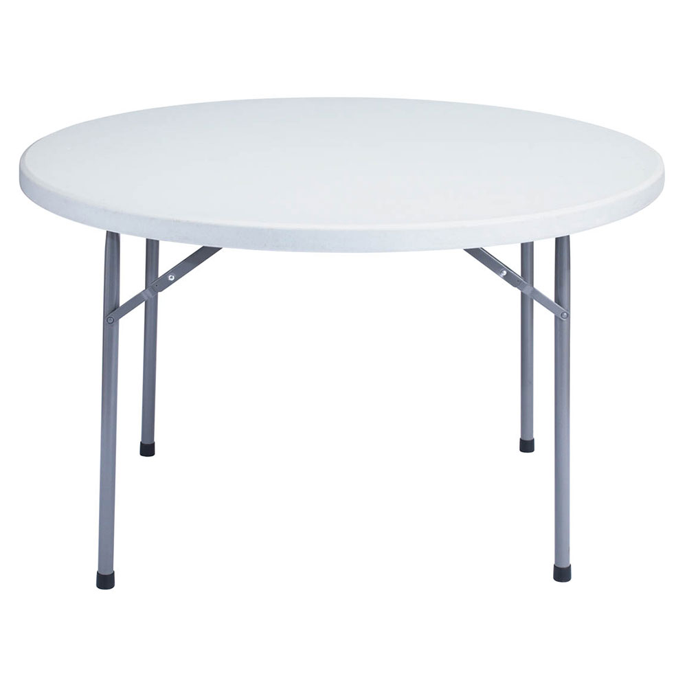 "National Public Seating BT-48R Gray Round Lightweight Folding Table w/48"" Diameter at Sears.com"